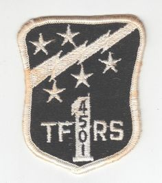 """USAF Air Force Patch: 4501st Tactical Fighter Replacement Squadron - 3"""" picclick.com"""
