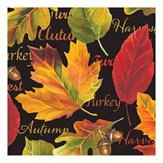 Creative Converting 317100 16 Count Paper Beverage Napkins 3Ply Autumn Expressions ** You can get additional details at the image link.