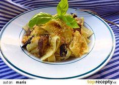 Nudle s houbami podle babičky recept - TopRecepty.cz Meat, Chicken, Food, Bulgur, Beef, Meal, Essen, Hoods, Meals