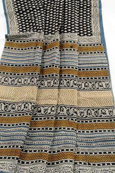 Bagru block print  saree