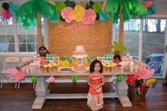 Moana Birthday Party Ideas | Photo 1 of 21