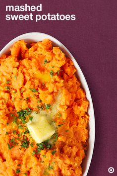Time for a Thanksgiving mash­up! Serve these tasty mashed sweet potatoes at your table and everyone will be sweet dreaming their turkey day naptime away.