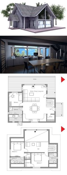 Small House Plan from #luxury house design| http://home-design-collections.lemoncoin.org