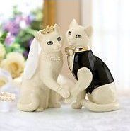 Cat Cake Toppers Wedding Topper