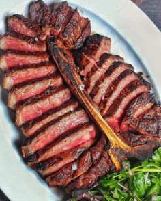 Even if we said we didn't try to lick our screen would you believe us? : Porterhouse Steak : @Porterhouse_NY : @IndulgentEats : Tag your friends below!