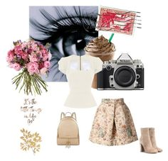 """""""Sans titre #659"""" by loveonedirection-i ❤ liked on Polyvore featuring Roland Mouret, Gianvito Rossi, MICHAEL Michael Kors and Nikon"""
