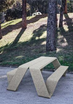 Bench Seat, Stepping Stones, Sidewalk, Outdoor Decor, Urban, Design, Street, Home Decor, Stair Risers
