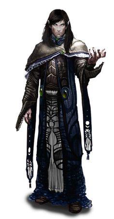 Elf caster wizard mage