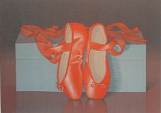 Mark Adams - Toe Shoes   From a unique collection of prints and multiples at http://www.1stdibs.com/art/prints-works-on-paper/