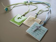 Scripture bookmarks/magnets for church teachers