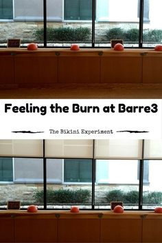 A Barre3 Class Review that breaks down what you can expect and how to prepare for an experience with this popular fitness phenomenon.|The Bikini Experiment