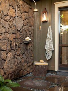 Ducha / Tropical Bathroom Design