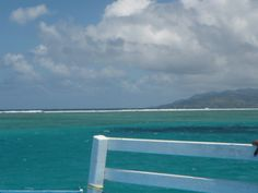Beautiful water in Tobago