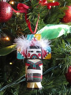 HOPI INDIAN BUTTERFLY KACHINA DOLL BY POOLEY ROUTE 66 STYLE CHRISTMAS ORNAMENT   eBay Christmas Travel, Modern Christmas, Christmas Holidays, Christmas Ideas, Christmas Tree Decorations, Christmas Ornaments, Holiday Decor, Xmas Tree Lights, International Craft