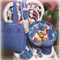 17 Sewing Accessory Crochet Patterns Chatelaine Pincushions Needlecase