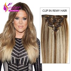 Aliexpress Buy Hot Sale Human Hair Brazilian Silky Straight Clip In Extension
