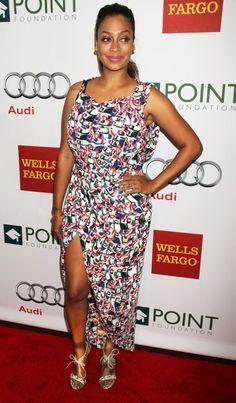 1c1cd5ed25a La La Anthony attends 2013 Point Honors Gala Reality Tv Stars