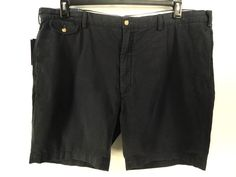 POLO RALPH LAUREN NEW MENS $89.50 BLUE CHINO CASUAL Big & Tall SHORTS 46 #PoloRalphLauren #KhakisChinos