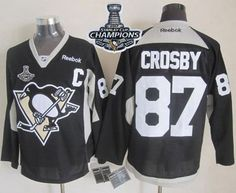 penguins 87 sidney crosby black practice 2017 stanley cup finals champions stitched nhl jersey