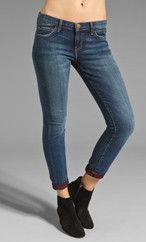 Current/Elliott The Rolled Skinny in Ruby Loved from REVOLVEclothing.com