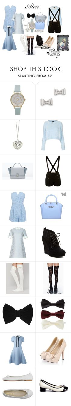 """""""Alice"""" by freefallingfashion ❤ liked on Polyvore featuring Olivia Burton, Marc by Marc Jacobs, Sian Bostwick Jewellery, Topshop, Zara, Miss Selfridge, Coast, Ted Baker, Jessica Simpson and Free People"""