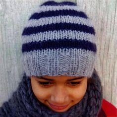 tuto bonnet rayé