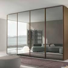 stylish sliding closet doors. Sliding Closet Doors Alternative With Adjusting Mirror - Stylishly Space-Saving \u2013 InteriorDesignIdea. Stylish M