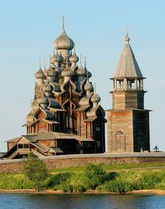Pogost de Kiji (Eglise de la Transfiguration), Russie