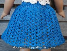 Free Doll Skirt Crochet Pattern
