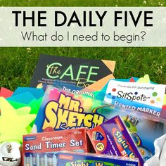 The Brown-Bag Teacher: The Daily 5 in Primary Classrooms