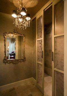 Junior League Powder Room - traditional - bathroom - boston - Finn-Martens Design