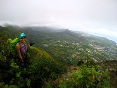 Considering how long it took me to get here I can't believe I started this hike at 4pm this evening. Glad I brought my headlamp. Pu'u O Kona Oahu Hawaii #hiking #camping #outdoors #nature #travel #backpacking #adventure #marmot #outdoor #mountains #photography