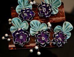 Bridal Lotus Kanzashi