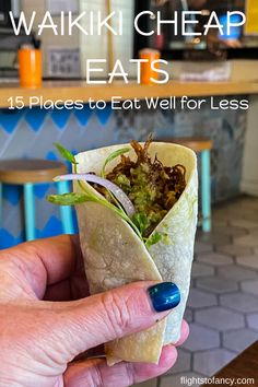 Cheap eats in Waikiki aren't exactly abundant. After an extensive search I managed to find 15 amazing Waikiki cheap eats to satisfy your hunger on a budget. Hawaii Travel, Travel Usa, Hawaii Honeymoon, Honolulu Hawaii, Travel Tips, Waikiki Beach, Waikiki Food, Oahu Vacation, Cheap Meals