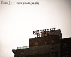 Shoply.com -The Redmont Hotel -Birmingham, Alabama-Fine Art Photography Print 8x10. Only $20.00