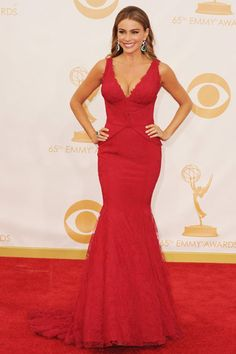 Emmys 2013: The Best of the Red Carpet - Sofia Vergara, Vera Wang