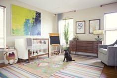 Nursery dal design contemporaneo