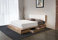 It is kind of myth that bed with storage don't look stylish. Rather as interior designing expert I would suggest to opt for the beds with storage. Even if you have ample of space available in your bedroom and have no storage issues in bedroom the beds with storage is useful. Why Opt for #Beds_with_Storage  > MyDecorative.Com