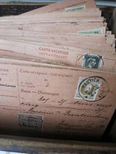 receiving postmarked letters from daddy Letters From Home, Old Letters, Pen Pal Letters, Newspaper Letters, French Script, Dear John, Handwritten Letters, Vintage Lettering, Write It Down