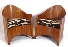 Pair of Rare Modernist Chairs by Walter von Nessen Machine Age, Icon Design, Den, Art Deco, Chairs, Warm, The Originals, Furniture, Home Decor