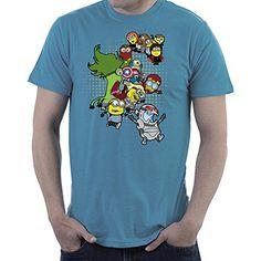 Minvengers Assaemble Age of Minitron Minions Avengers Men's T-Shirt #camiseta #friki #moda #regalo