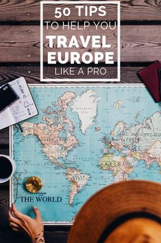 Before you go to leave, be sure to read these 50 essential Europe travel tips that you help you travel Europe like a pro! Europe Travel Tips: 50 Things You… Travel Europe Cheap, Travel Around Europe, European Travel, Budget Travel, Spain Travel, Transport In Europe, Overseas Travel, European Vacation, Croatia Travel