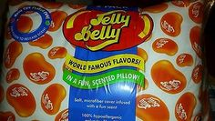 Jelly Belly Jelly Bean Tangerine Scented Bed Pillow For Easter