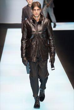 Sfilata Moda Uomo Giorgio Armani Milano - Autunno Inverno 2016-17 - Vogue