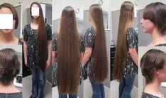Beautiful Long Hair, Amazing Hair, Long Hair Cuts, Long Hair Styles, Super Long Hair, Shearing, Hair Pictures, Cut Off, Haircuts