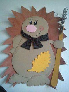 Crafts with children Henrietta Animal Crafts For Kids, Fall Crafts For Kids, Diy For Kids, Diy And Crafts, Arts And Crafts, Paper Crafts, Diy Paper, Autumn Crafts, Autumn Art