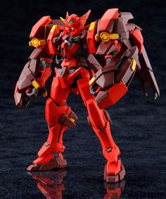 HG 1/144 Vocano Astraea - Custom Build Featured via Dengeki Hobby Modeled by Aspergillus 麹菌