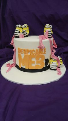 Minion cake - Despicable Me 3 Cake