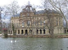 To his baroque palace, Duke von Wurttemberg added a hunting lodge, and the Seeschloss (castle on the lake) Monrepos (1764–1768), shown here.