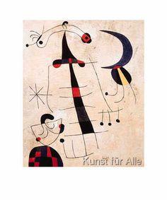 Joan Miró - Klage der Liebenden